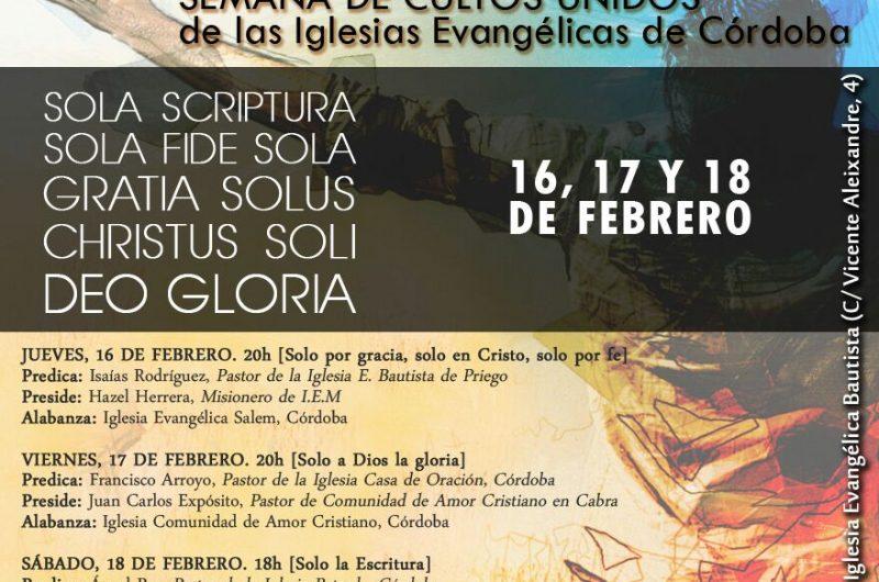 37 EDICIÓN DE CULTOS UNIDOS – Predicaciones