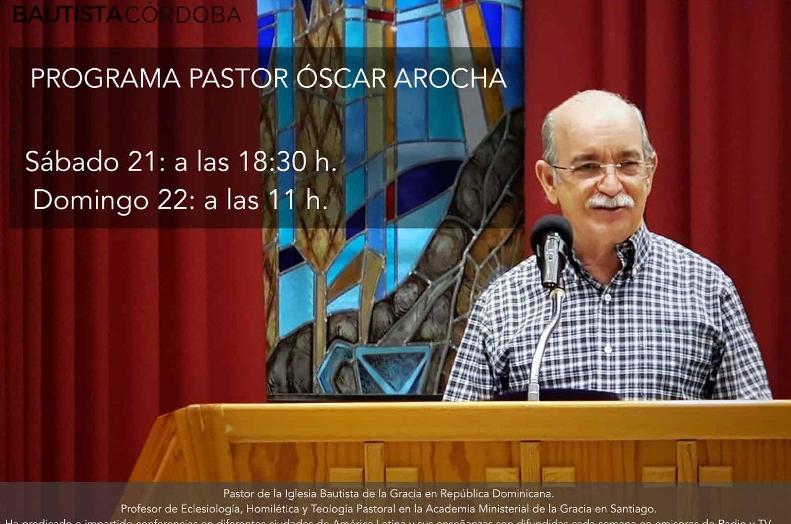 PASTOR ÓSCAR AROCHA