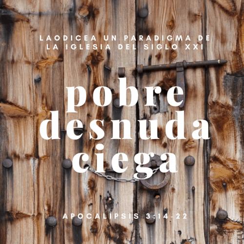 POBRE, DESNUDA Y CIEGA