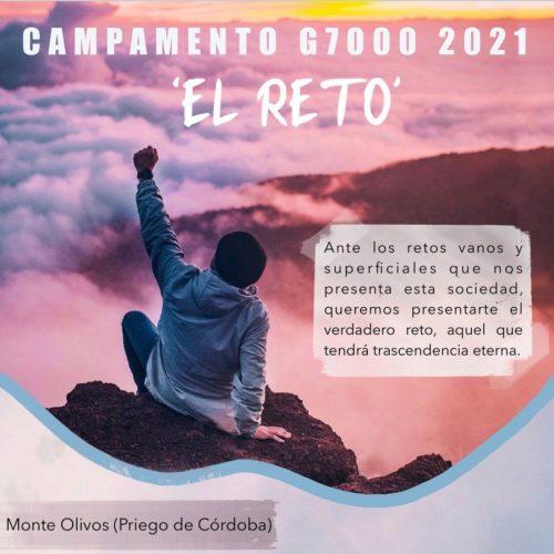 CAMPAMENTO G7000 | EL RETO